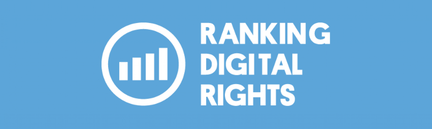 Ranking Digital Rights